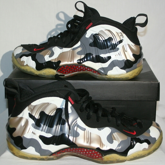 Nike WMNS Air Foamposite One Chrome White T Cold like ...
